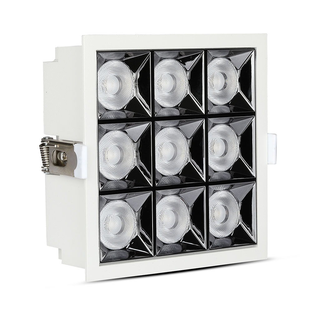 V-TAC 999 - VT-2-36 36W LED REFLECTOR SMD DOWNLIGHT SAMSUNG CHIP 2700K 38'D