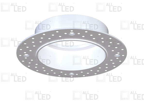 ALL LED AFD65/TK - POLAR WHITE TRIMLESS KIT FOR ICAN65 AFD65