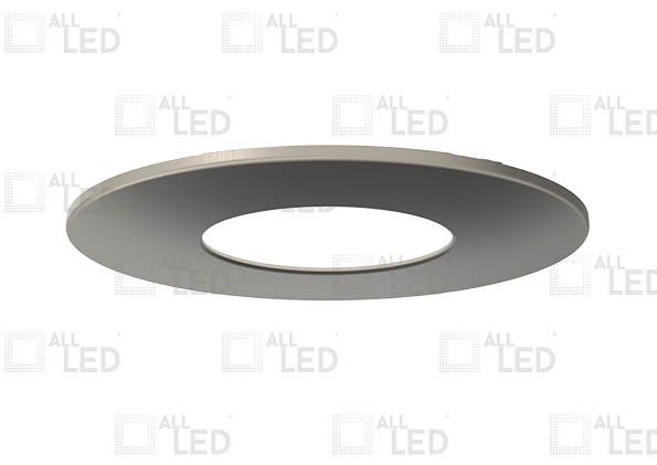 ALL LED AFD65BZ/F/SN - FIXED IP20 SATIN NICKEL BEZEL FOR ICAN65 (AFD65)