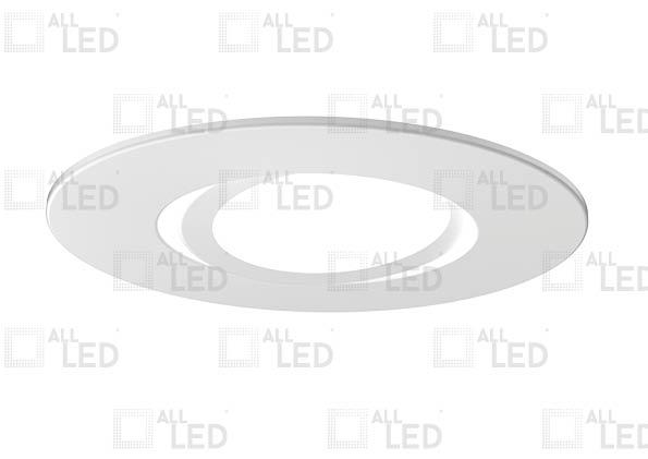 ALL LED AFD75BZ/A/WH - ADJUSTABLE POLAR WHITE BEZEL FOR ICAN75 (AFD75)