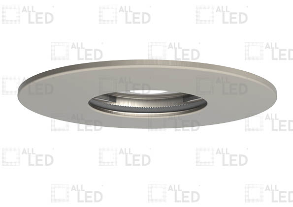ALL LED AFD75BZ/IP/SN - IP65 FIXED SATIN NICKEL BEZEL FOR ICAN75 (AFD75)