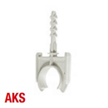Schnabl 30741 AKS 16 Clamp 16mm D/Gry