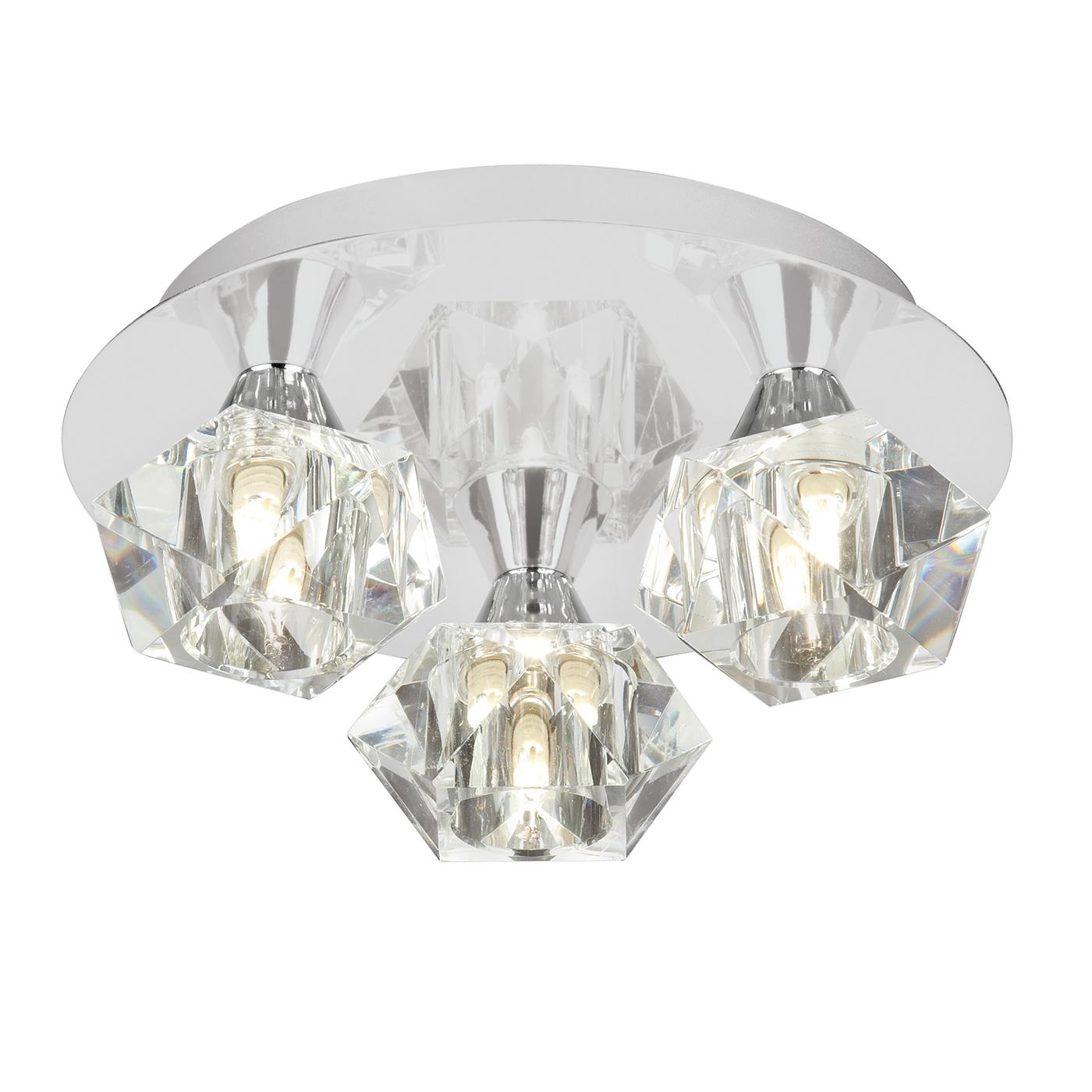 Endon ARIETTA-3PCH Ceiling Light 3x40W
