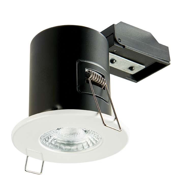 Collingwood GU10 Fire Rated Fixed Downlight IP20 (White)
