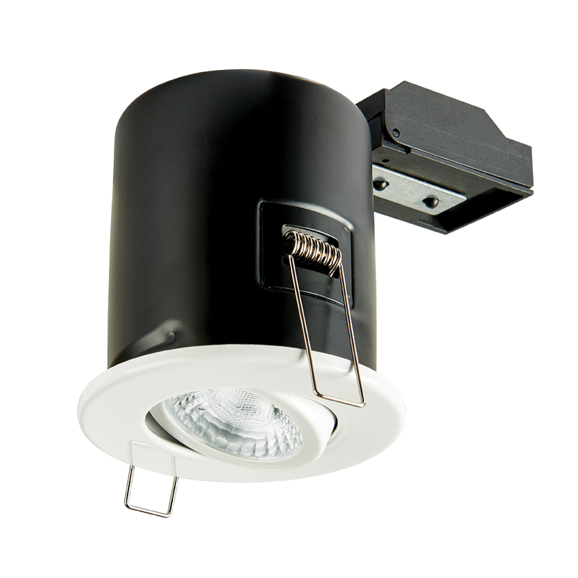 Collingwood GU10 Fire Rated Adjustable Downlight IP20 (White)