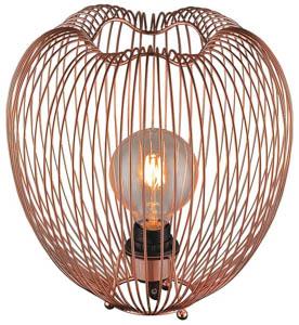 Petal Table Lamp in Copper 60W E27 30cm(w)