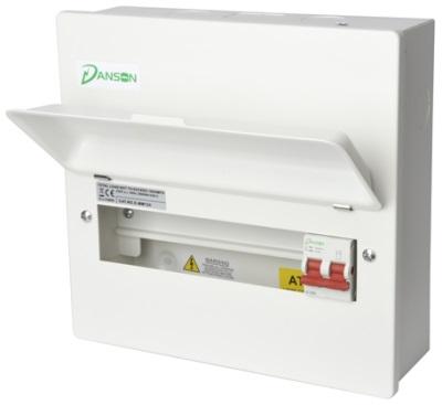 Danson E-MM084 Consumer Unit 8 Module 100A