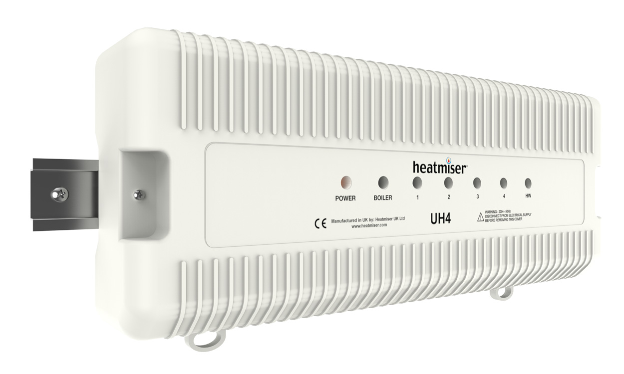 Heatmiser UH4 - 4 Zone 230v Wiring Centre