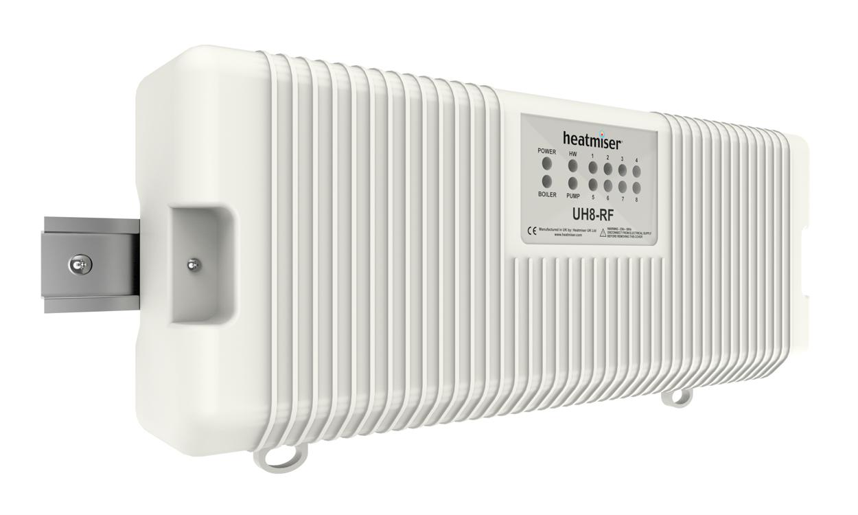 Heatmiser UH8-RF 230v 8 Zone Wireless Wiring Centre