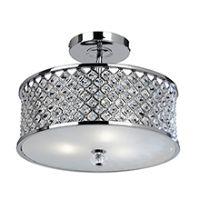 Endon HUDSON-3CH Ceiling Light ES 3x50W