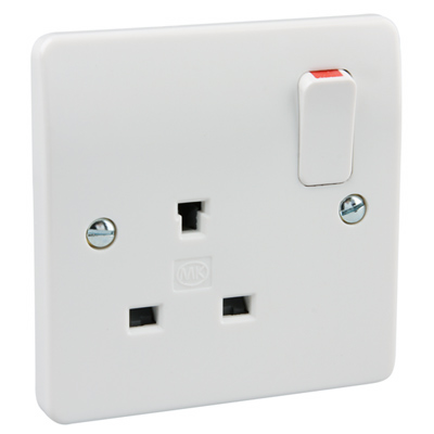 MK 13A 1G DP Non Standard Switch Socket