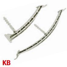 Schnabl 30420 KB Cbl Bracket 100mm L/Gry