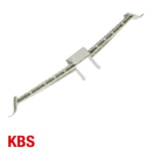 Schnabl 30460 KBS Cable Bkt 200mm L/Gry