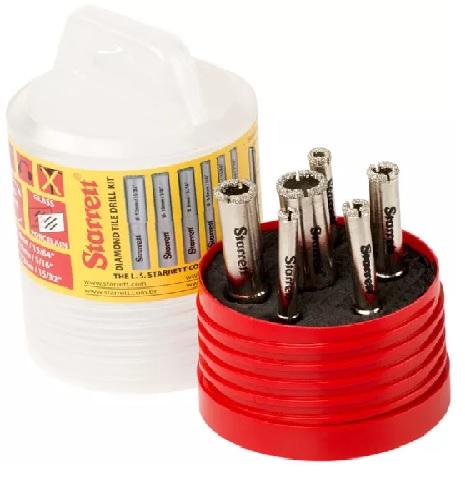 Starrett KD2000TD1 Drill Kit Assorted