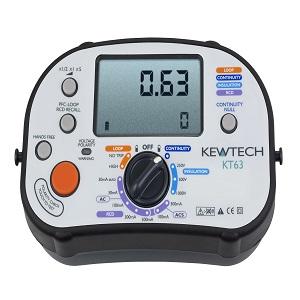 KEWTECH KT63 DIGITAL 5-IN-1 MULTIFUNCTION TESTER