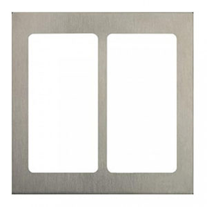 Lutron Pico 2-Column Faceplate (Satin Nickel)
