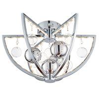 Endon MUNI-CH-F Flush Pendant LED 7.2W