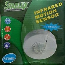 STARLUX Surface Infrared Motion Sensor 3 Detectors 3-12mt Range OCPS/ST06B