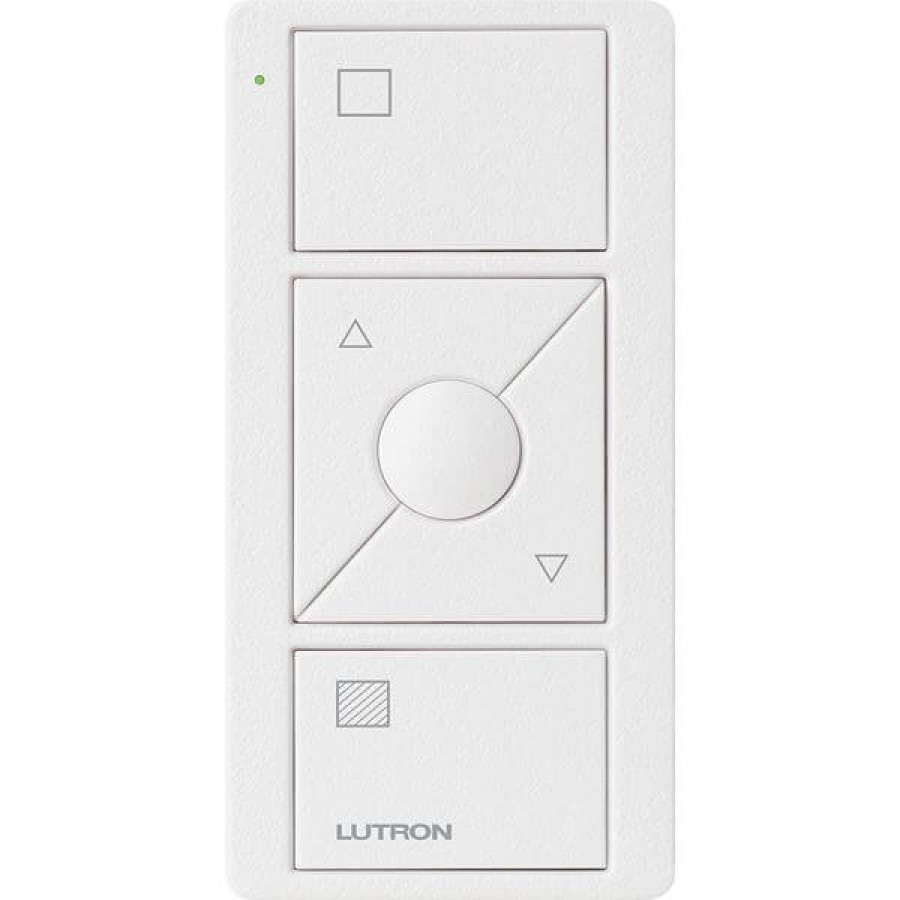 Lutron Pico RF 3 Button Control with Raise/Lower (Black) (Shades Model)