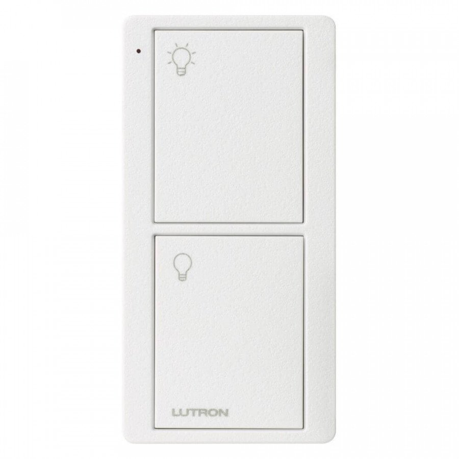 Lutron Pico RF 2 Button Control (Artic White) (Lights Model)