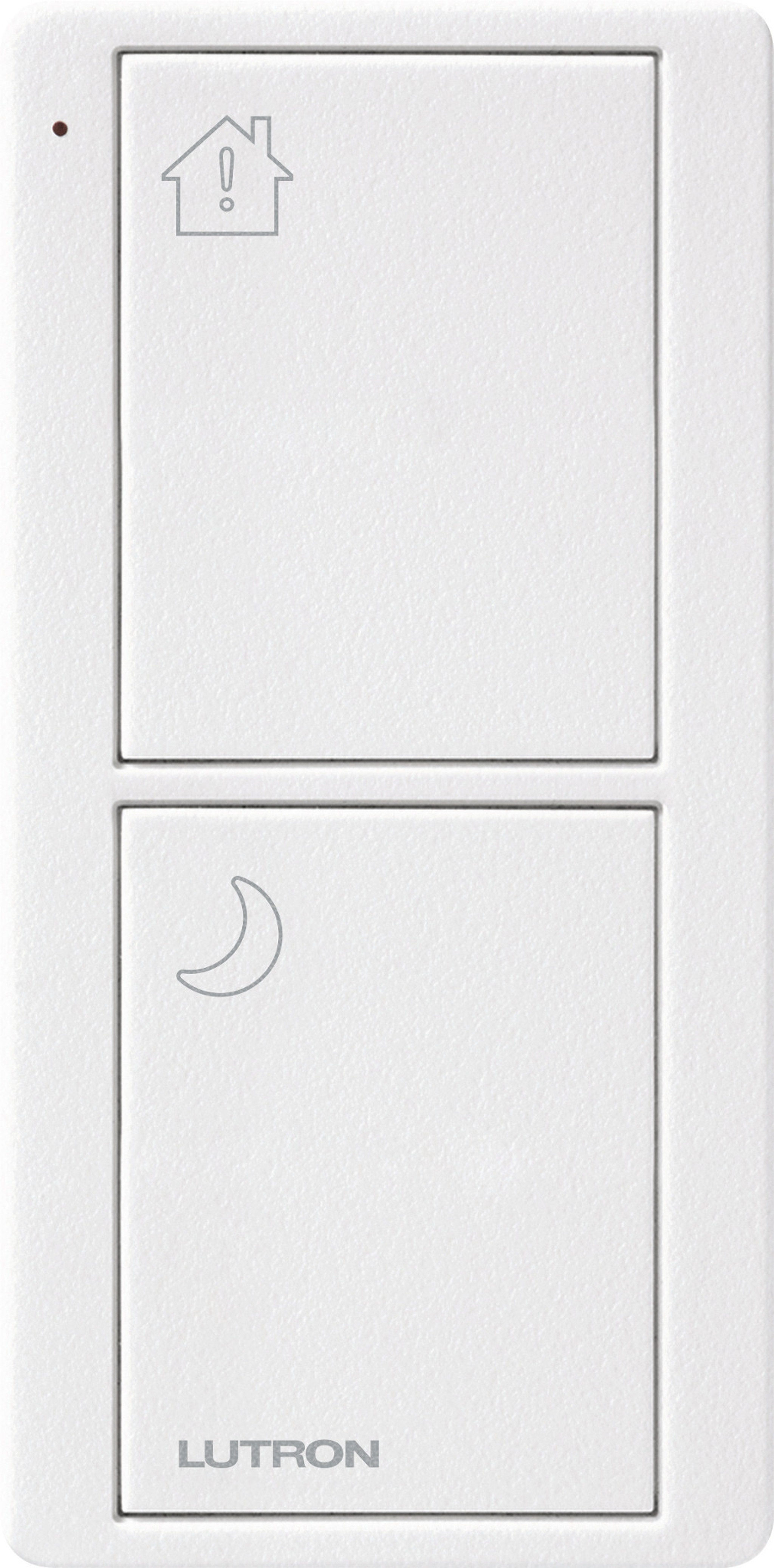 Lutron Pico RF 2 Button Control (Artic White) (Bedside Model)