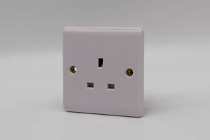 Premspec 1G 13A Un-switched Socket