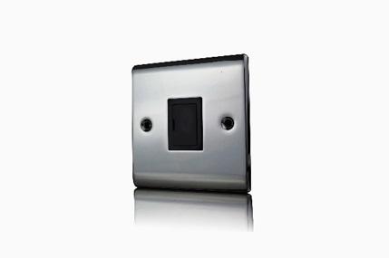 Premspec 13A Un-Switched FCU Black Nickel