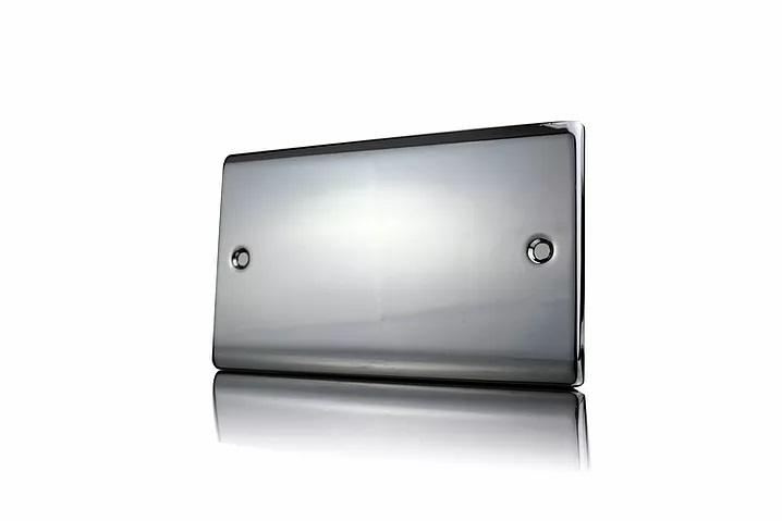 Premspec 2G Blank Plate Black Nickel