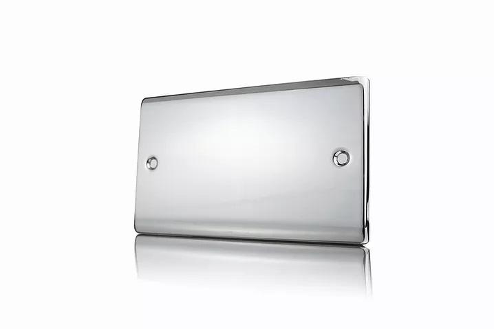 Premspec 2G Blank Plate Polished Chrome
