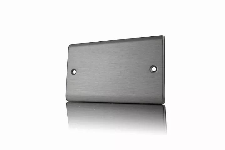 Premspec 2G Blank Plate Satin Nickel