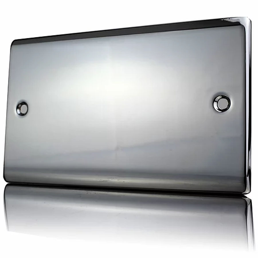 Premspec 2G Blank Plate Black Nickel