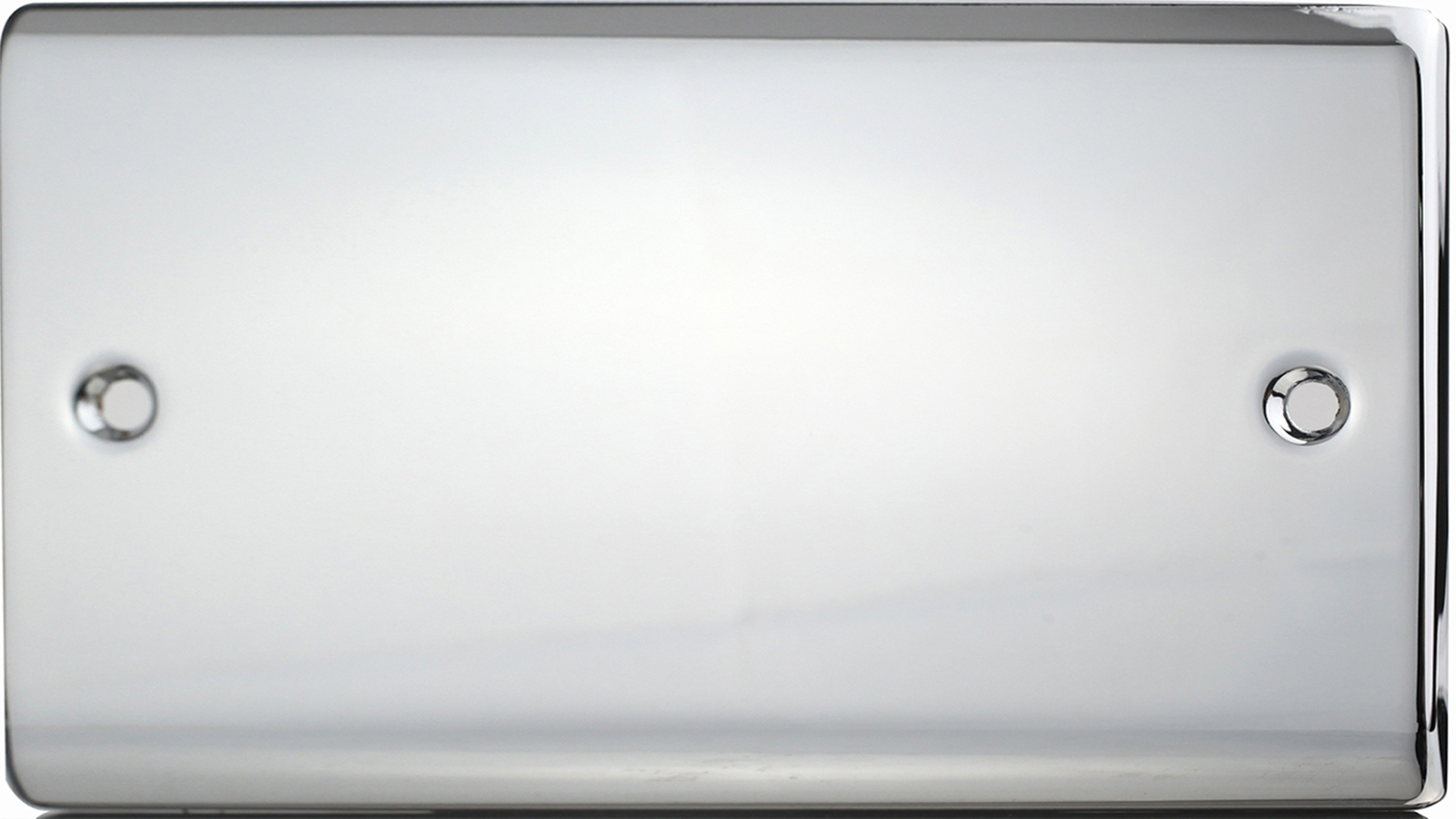 Premspec 2G Blank Plate Polished Chrome