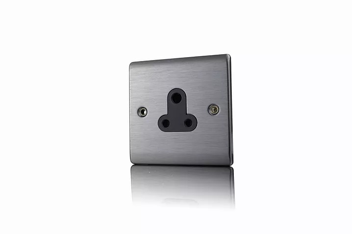 Premspec SN 5A UnSwitched Socket Satin Nickel