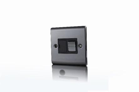 Premspec 13A Switched FCU Black Nickel