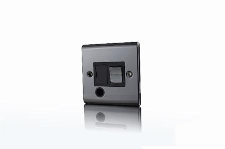 Premspec 13a Switched FCU F/O Black Nickel