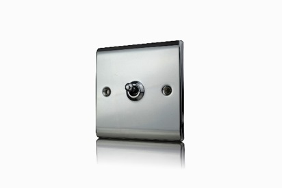 Premspec 10AX 1G 2W Toggle Switch Black Nickel