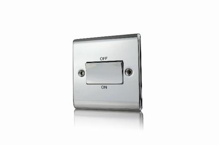 Premspec TP Fan Isolator Switch Polished Chrome