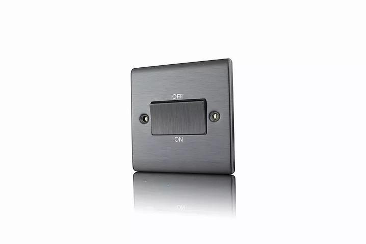 Premspec TP Fan Isolator Switch Satin Nickel