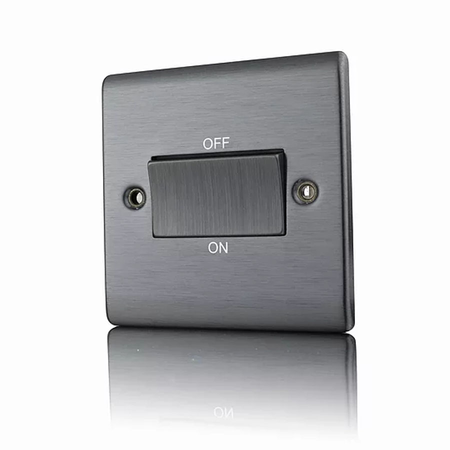 Premspec TP Fan Isolator Switch Satin Nickel