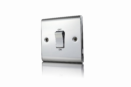 Premspec 45A DP 1G Switch Polished Chrome