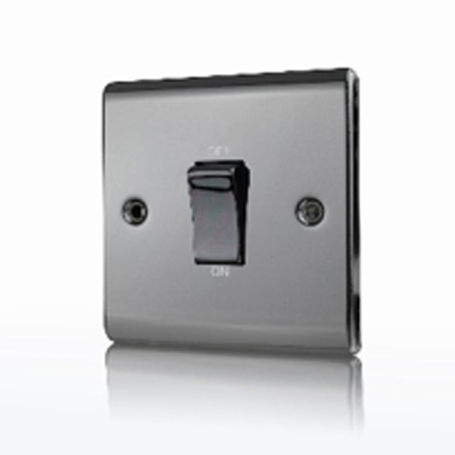Premspec 45A DP 1G Switch Black Nickel
