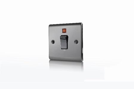 Premspec 45A DP 1G Switch + NEON Black Nickel