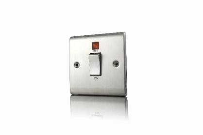 Premspec 45A DP 1G Switch + NEON Satin Steel