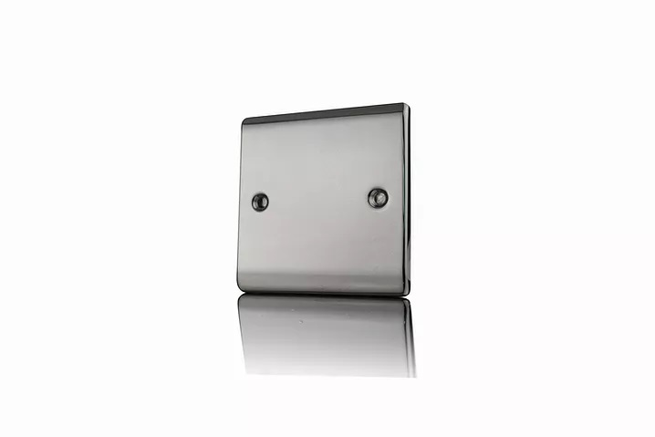 Premspec 1G Blank Plate Black Nickel