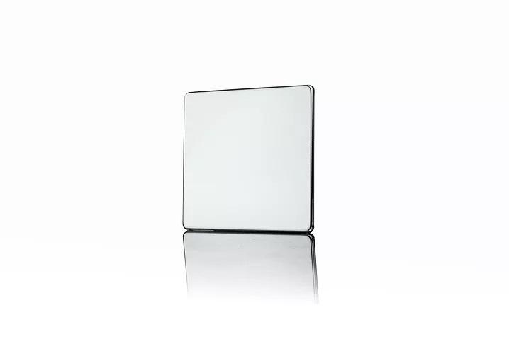Premspec 1G Blank Plate Screwless Polished Chrome