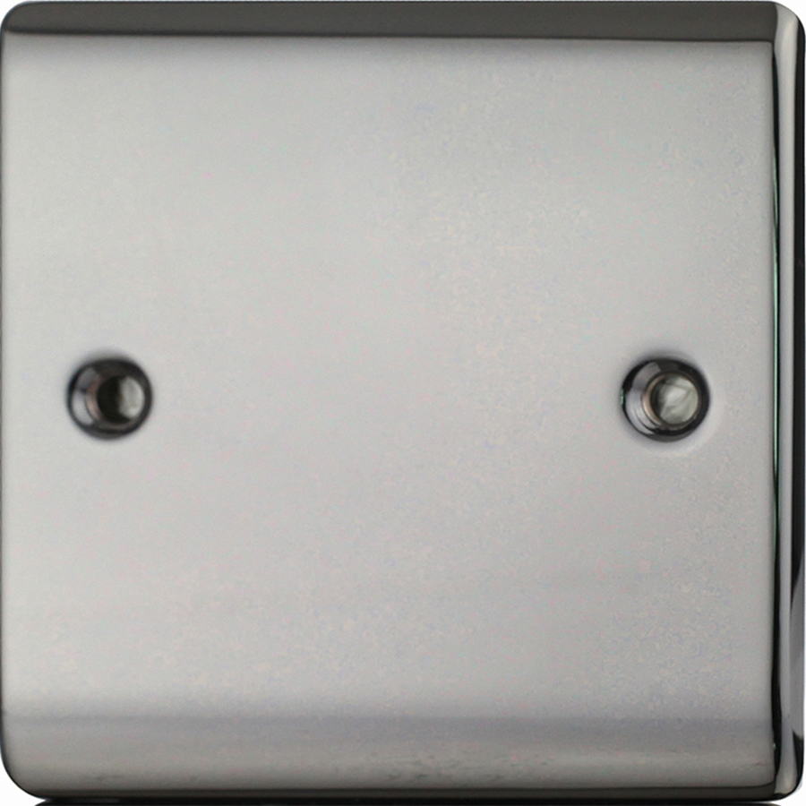 Premspec 1G Blank Plate Black Nickel