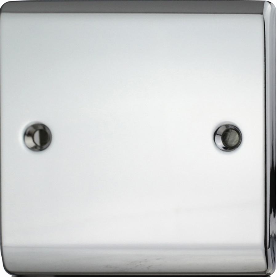 Premspec 1G Blank Plate Polished Chrome