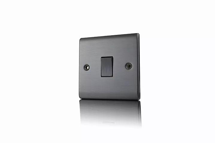 Premspec 1G Intermediate Switch Satin Nickel