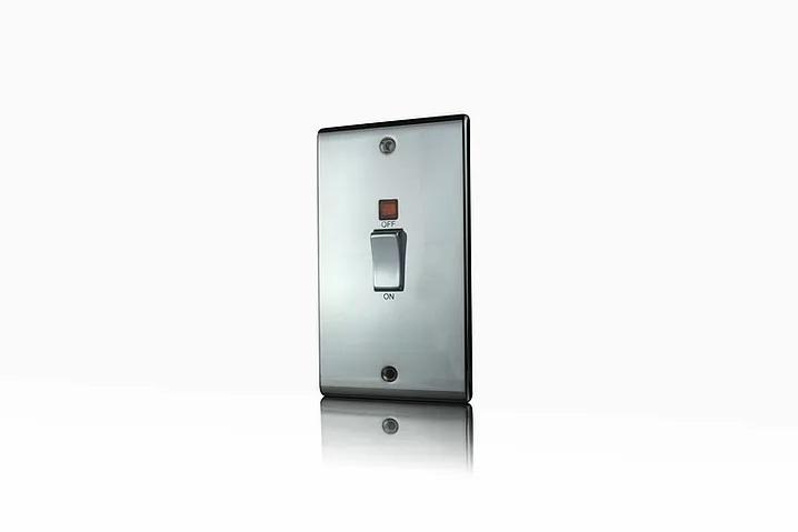 Premspec 45A DP Switch Vertical + NEON Black Nickel