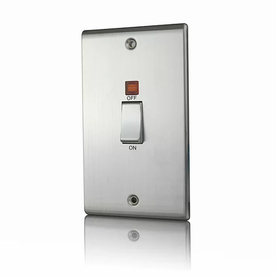 Premspec 45A DP Switch Vertical + NEON Satin Steel